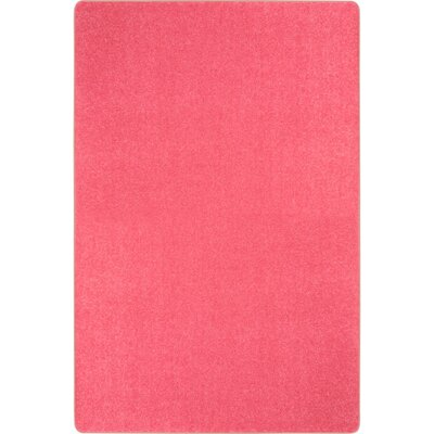 Hot Pink Area Rug Rug Size: 12 x 8