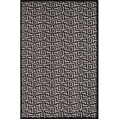 Gray Area Rug Rug Size: 9 x 12