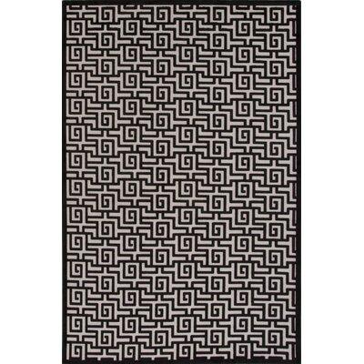 Gray Area Rug Rug Size: 5 x 76