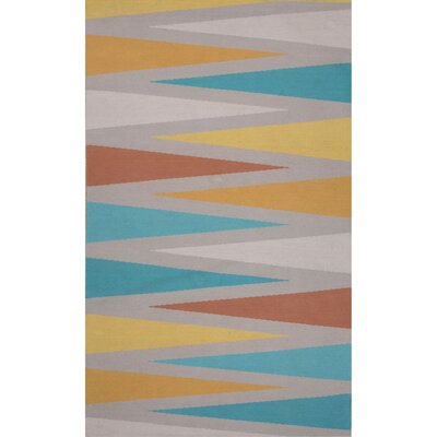 Hallenbeck Gray/Blue Area Rug Rug Size: Rectangle 8 x 11