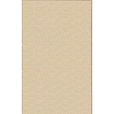 Hand-Tufted Beige Area Rug Rug Size: Rectangle 4 x 57
