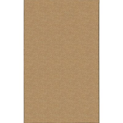 Hand-Tufted Brown Area Rug Rug Size: Rectangle 3 x 5