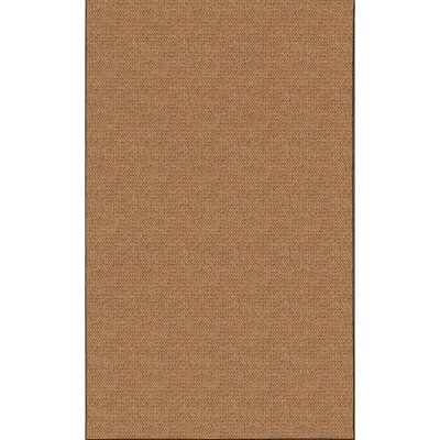 Hand-Tufted Brown Area Rug Rug Size: Rectangle 4 x 57