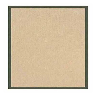 Hand-Tufted Beige Area Rug Rug Size: Rectangle 8'9