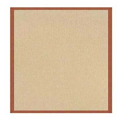 Hand-Tufted Beige Area Rug Rug Size: Rectangle 4 x 6