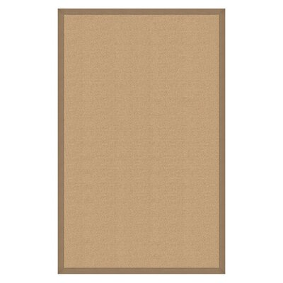 Hand-Tufted Beige Area Rug Rug Size: 910 x 13