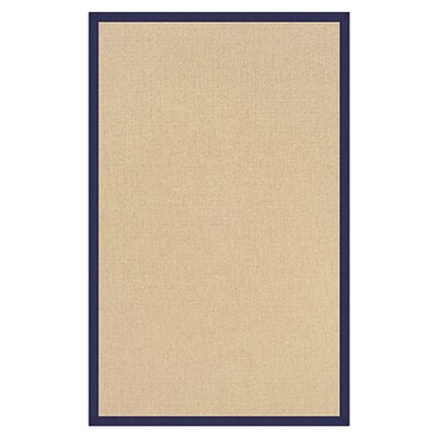 Hand-Tufted Beige Area Rug Rug Size: 110 x 210
