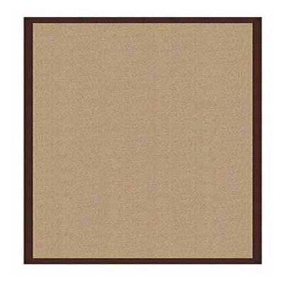 Hand-Tufted Beige Area Rug Rug Size: Rectangle 8 x 11