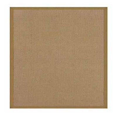 Hand-Tufted Beige Area Rug Rug Size: 5 x 8
