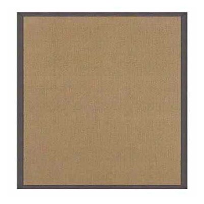 Hand-Tufted Beige Area Rug Rug Size: 89 x 12