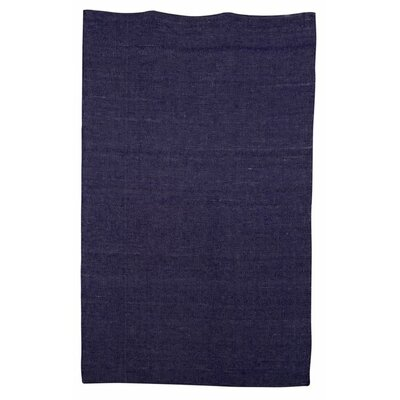 Hand-Woven Blue Kids Rug Rug Size: Rectangle 53 x 76