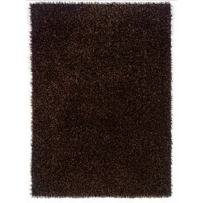 Hand-Woven Brown Area Rug Rug Size: 110 x 24