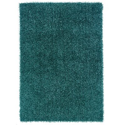 Hand-Tufted Green Area Rug Rug Size: 110 x 24