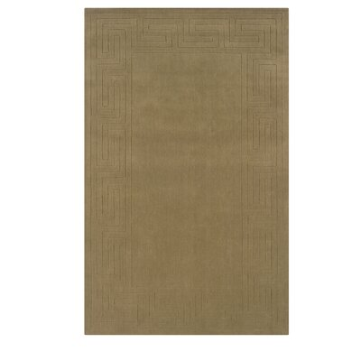 Hand-Woven Beige Area Rug Rug Size: Rectangle 36 x 56
