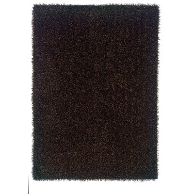 Hand-Tufted Black Area Rug Rug Size: 110 x 24