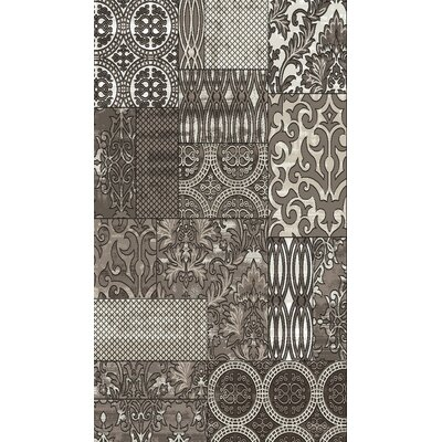Gray Area Rug Rug Size: Rectangle 2' x 3'