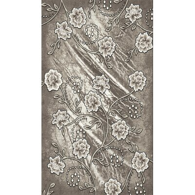 Gray Area Rug Rug Size: Rectangle 8 x 104
