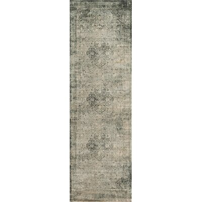 Keever Slate Area Rug Rug Size: Runner 24 x 79