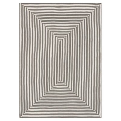 Gray Indoor/Outdoor Area Rug Rug Size: Rectangle 5 x 76