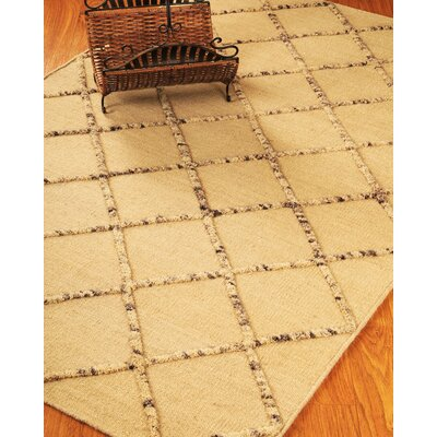 Hand-Woven Cream Area Rug Rug Size: Rectangle 6 x 9