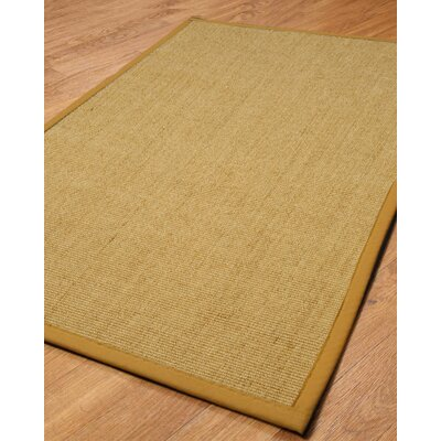 Handmade Sisal Area Rug Rug Size: Rectangle 3 x 5