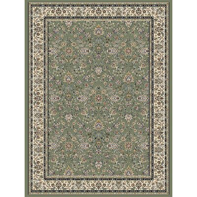 Green Area Rug Rug Size: 710 x 112