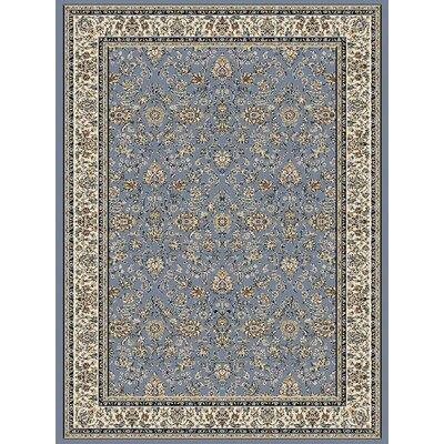 Blue Area Rug Rug Size: 710 x 112