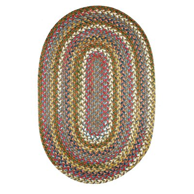 Handmade Bronze Indoor/Outdoor Area Rug Rug Size: Round 4