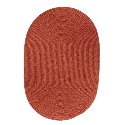 Handmade Terra Cotta Area Rug Rug Size: 8 x 11