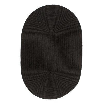 Handmade Black Area Rug Rug Size: Runner 2 x 8