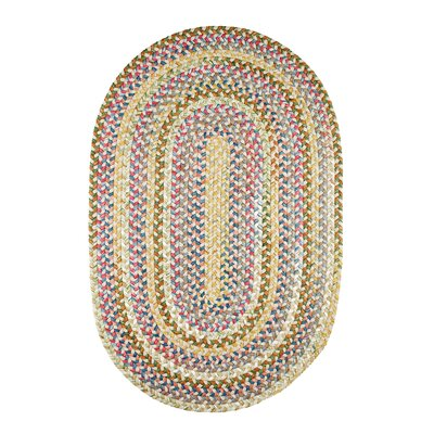 Handmade Indoor/Outdoor Rug Rug Size: Oval 3 x 5