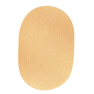 Handmade Wheat Area Rug Rug Size: Oval  2 x 3