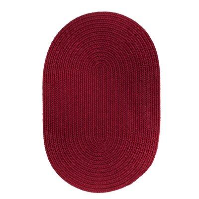 Handmade Red Wine Area Rug Rug Size: Runner 2 x 8