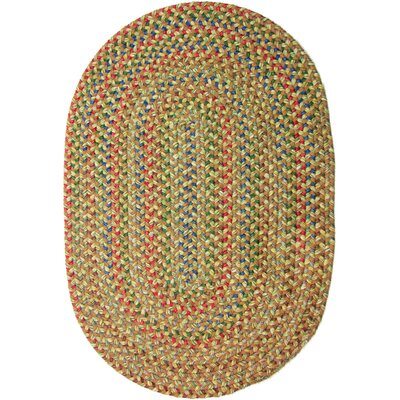 Camel Indoor/Outdoor Area Rug Rug Size: Oval 2 x 3