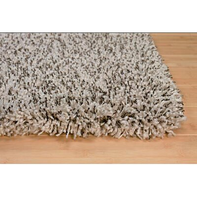 Machine Woven Gray Area Rug Rug Size: 5 x 8