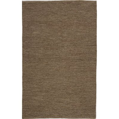 Hand-Woven Coffee Area Rug Rug Size: 4 x 6