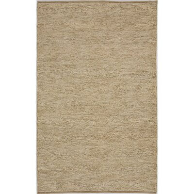 Hand-Woven Tan Area Rug Rug Size: 8 x 10