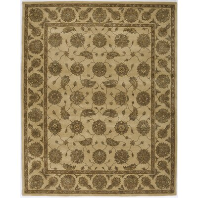 Hand-Tufted Beige Area Rug Rug Size: Runner 23 x 76