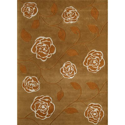 Hand-Woven Rust Area Rug Rug Size: Runner 23 x 8