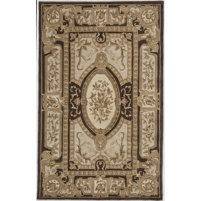 Hand-Woven Brown Area Rug Rug Size: Runner 23 x 8