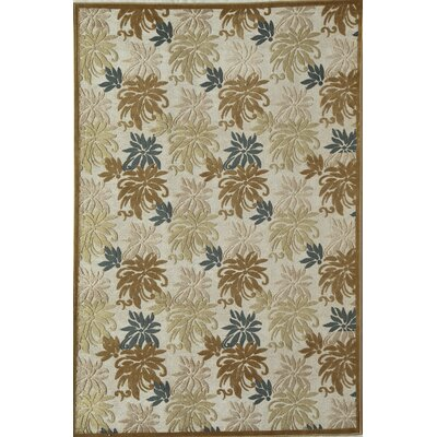 Beige/Brown Area Rug Rug Size: 1'6