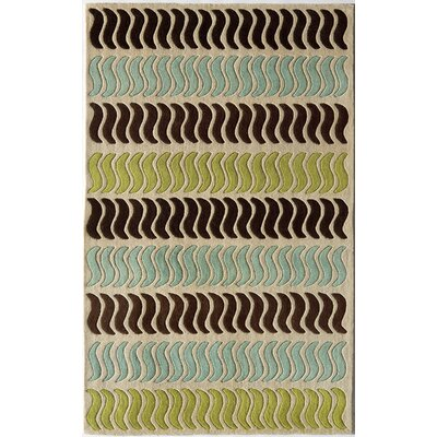Hand-Woven Area Rug Rug Size: 8 x 11