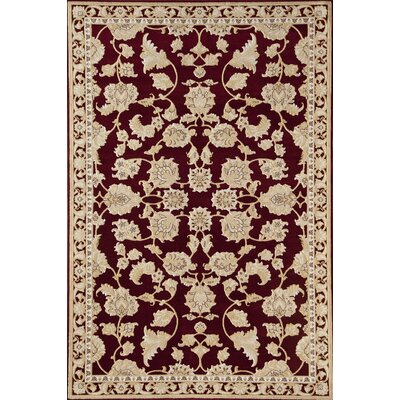 Red Area Rug Rug Size: 2 x 211