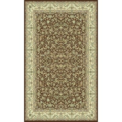Brown Area Rug Rug Size: 710 x 1010