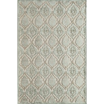 Light Blue Area Rug Rug Size: Runner 23 x 710