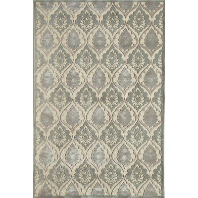 Silver Area Rug Rug Size: 16 x 23