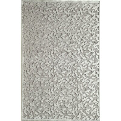 Silver Area Rug Rug Size: Runner 23 x 710