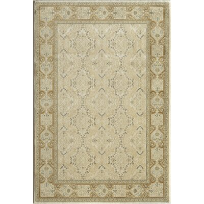 Cream Area Rug Rug Size: 67 x 96