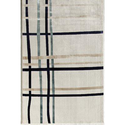 White Area Rug Rug Size: Runner 22 x 73