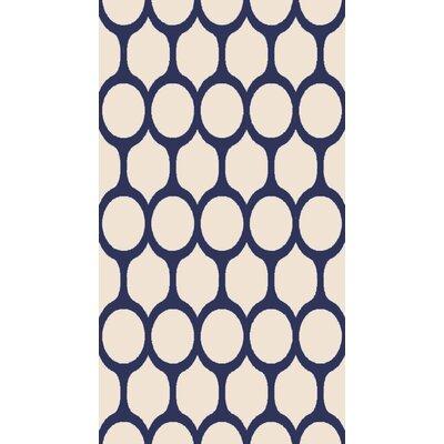 Beige/Blue Area Rug Rug Size: 53 x 710